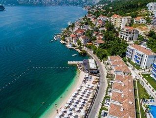 Beach Side Villa Donkovic With Boka Bay View