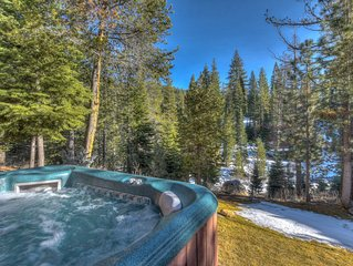 Luxury Home with Olympic Valley Views, Hot Tub, Game Room, Pet Friendly