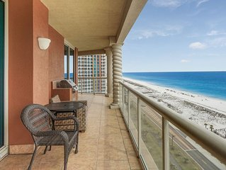 P5-1401 -GORGEOUS 3B CONDO overlooking Gulf Of Mexico. Sleeps 10!