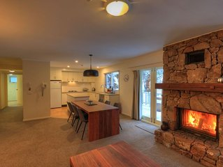SEQUOIA #2 - 1 Bed&1.5Bath Luxury Apartment OUTSIDE JACUZZI - THREDBO VILLAGE