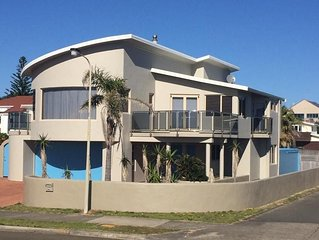 Modern, comfortable, house.  Right on the Beach.
