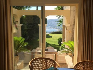 private villa in luxury compound 2 min walking to sea