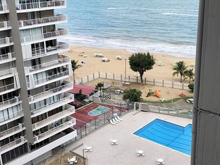 Beachfront Apartment -Isla Verde- Carolina Coral Beach Apts