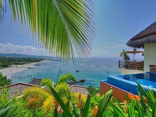 Georgous luxury Villa, views of ocean and yacht club, Real del Mar luxury Commun