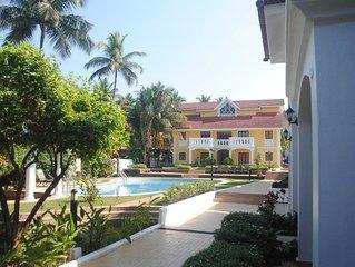 Sea Breeze Luxury 2 BHK apartment,Betalbatim, Goa.