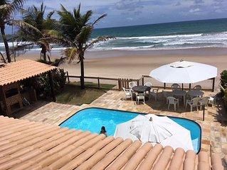 Casa a beira-mar de Porto de Galinhas com 04 suites
