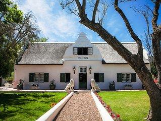 Luxury 4 Star B&B in Paarl Western Cape