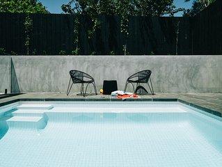 The Minimalist Retreat: Pool - Walk to Rye Beach - Pet-friendly