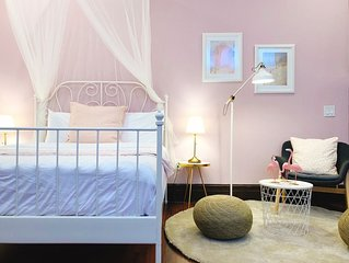 Spring Garden Pink Princess Studio w/FREE Parking