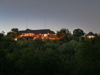 Exclusive Bush Villa Inside the Greater Kruger National Park, home of the Big 5