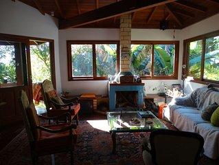 Verão  no Campeche! Conforto, natureza, próximo da praia.
