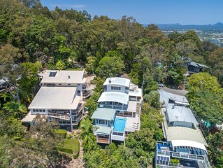 'The Lookout' provides you with everything for your perfect holiday in Noosa.
