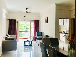 Entire 2 BHK APARTMENT 'Celebrations  Home Stay'