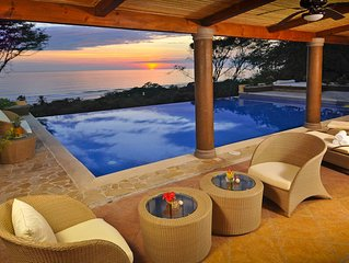 Multi-Level 6BR Villa with Outstanding Sunset and Ocean Views!