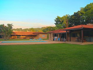 Alto Padrão - Sítio Paradisíaco em Atibaia - 5 Dormitórios
