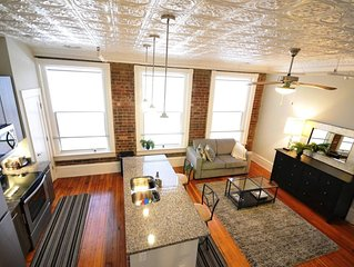 Penthouse Suite in Arts District on Broad near MCV-VCU
