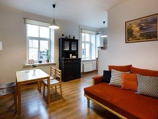 Delightful 1 bedroom apartment in Riga City Center