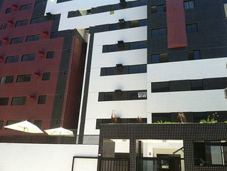 Apartamento Novo na melhor localizacao da praia de Ponta Verde, Maceio, Alagoas!