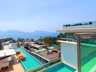 3 bedroom sea view apartment Patong