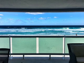 The perfect ocean front house in hotel zone