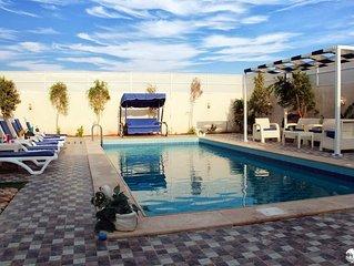 Vacation chalet in Dead Sea jordan area (Santorini chalet)