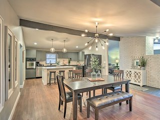 Renovated Home By Expo Square & Univ of Tulsa!