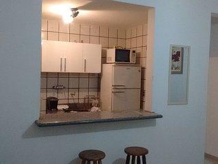6390 Apartamento na praia do Morro, wi-fi, garagem etc