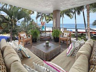 Casa Palmar. Oceanfront. Upscale Bohemian. Barefoot Luxury. Paradise…