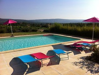 Provencal Villa With Stunning View Of Luberon
