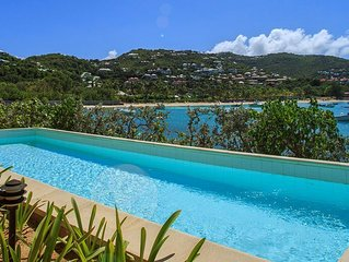 St Jean Waterfront Traditional Villa on St Bart's