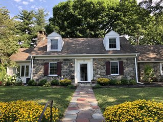 Classic Stone House on Quiet Street - Walking Distance to Main Street!