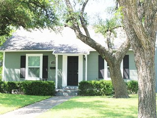 The Central Cottage: 7 mins from Magnolia Table, Silos, Baylor & Downtown Waco