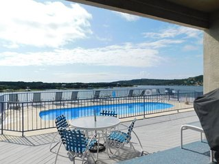 1 BR w/ pool, hot tub & covered boat slip