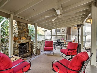 Land Harbors Lake Home w/Outdoor Fireplace!