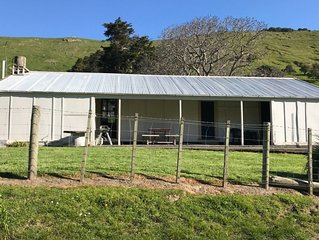 Gough's Bay Shearers' Cottage, Banks Peninsula