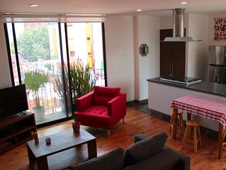 Beautiful apartment two blocks from Condesa