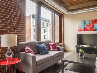 Downtown 2br Suite Near Dining | Walk to The Dome