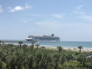 Port Canaveral Direct Oceanfront 2/2
