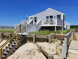 New Home Located Directly on Private Beach with A/C
