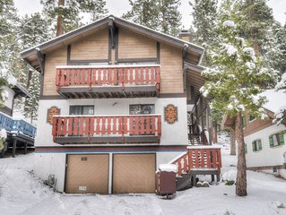 Cozy Chalet, Minutes to Heavenly Resort, Casinos, Lake and Downtown - Roku/Netfl