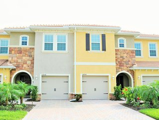 New Town Home with lake view in beautiful Bonita Springs!