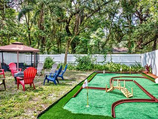 ☆Sunny & Modern☆ Arcade & Mini Golf   Ace Location   Minutes From Everything