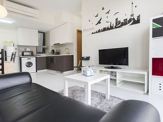 2 Bedroom Luxury Stay City View (ZSM4)