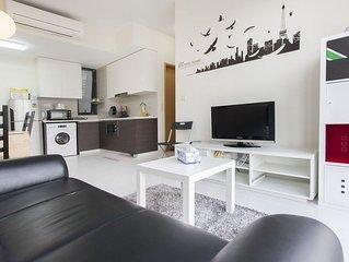 2 Bedroom Luxury Stay City View (ZSM4)