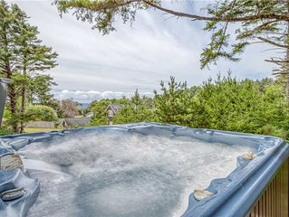 Cascade Cottage-Beautiful New Home in Belhaven w/ Hot Tub & Luxury Furnishings