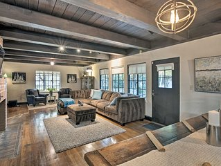 Storybook Cottage w/Cedar Hot Tub, 2 Mi to Midtown