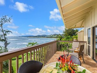 Lae Nani Unit 535 - Spectacular Beach Front - Quiet and Private