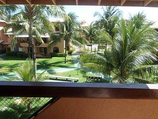 Guarajuba- 3/4 no Condominio Genipabu Summer House -