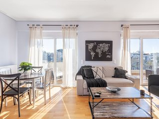 Urban Penthouse, large balconies & Acropolis view!