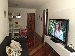 Lindo e impecavel apartamento com 2 suites em frente ao Metro Siqueira Campos